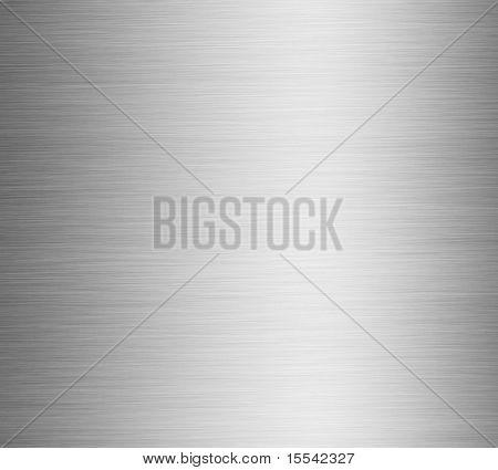 Gebürstetes Silber metallic Hintergrund