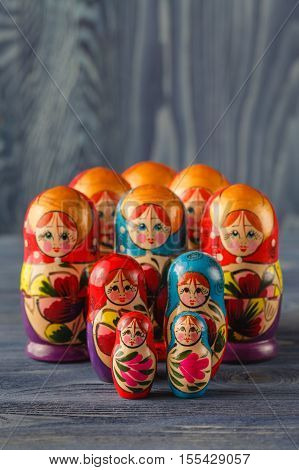 Russian Nesting Dolls ( Babushkas Or Matryoshkas )