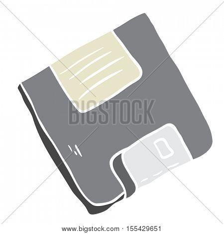 floppy disc cartoon illustration
