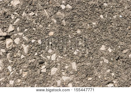 Concrete background. Texture gray plastered wall for background