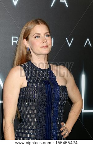 LOS ANGELES - NOV 6:  Amy Adams at the