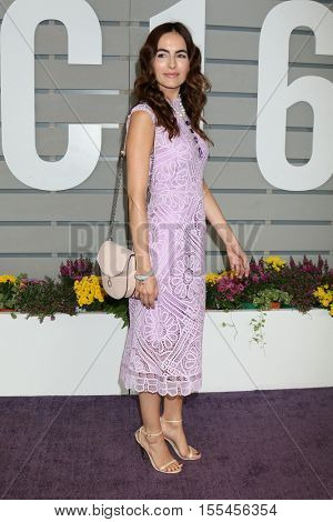 LOS ANGELES - NOV 5:  Camilla Belle at the 33rd Breeder's Cup World Championship at the Santa Anita Park on November 5, 2016 in Arcadia, CA