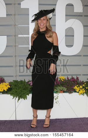 LOS ANGELES - NOV 5:  Kym Johnson Herjavec at the 33rd Breeder's Cup World Championship at the Santa Anita Park on November 5, 2016 in Arcadia, CA