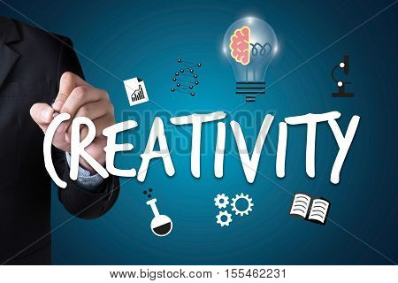 Creativity Creative And Design  Thinking Innovation Process Creativity And Inspiration, Idea And Ima