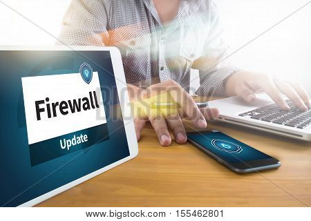 Firewall Antivirus Alert Protection Security And Cyber Security Protection Firewall