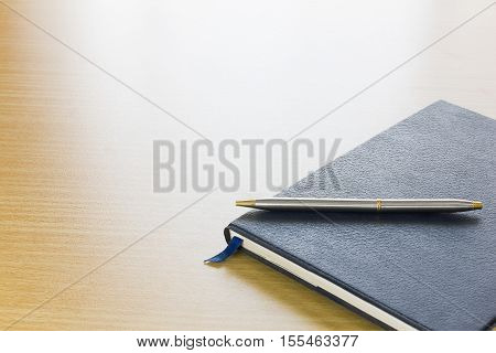 Pen On A Book