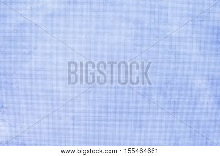 old blue graph paper background and texture