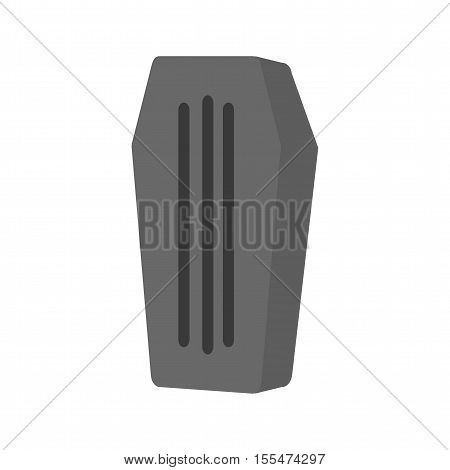 Coffin, wood, funeral icon vector image.Can also be used for wild west. Suitable for mobile apps, web apps and print media.