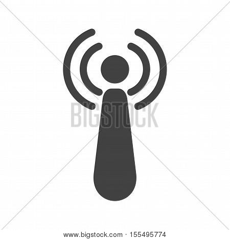 Radiation, ionizing, danger icon vector image. Can also be used for warning caution. Suitable for use on web apps, mobile apps and print media.