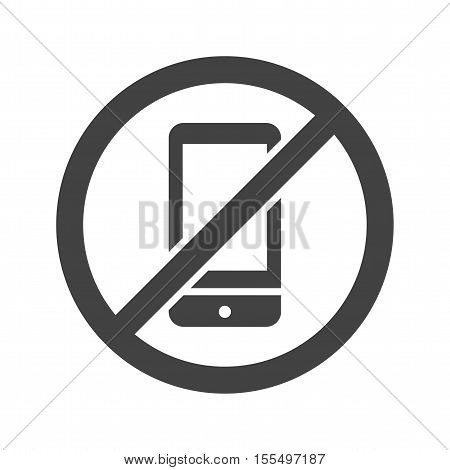 No, phone, call icon vector image. Can also be used for warning caution. Suitable for use on web apps, mobile apps and print media.