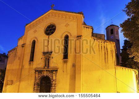 Grands Carmes Church in Marseille. Marseille Provence-Alpes-Cote d'Azur France.