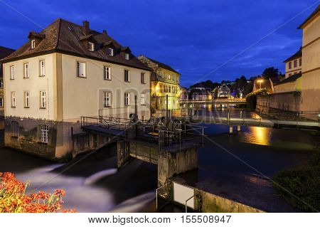 Old Town in Bamberg. Bamberg Bavaria Germany.