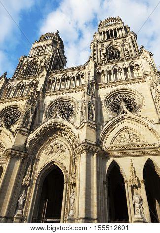 Orleans Cathedral. Orleans Pays de la Loire France