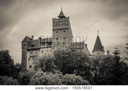 Bran Castle, Transylvania, Romania, known for the story of Dracula