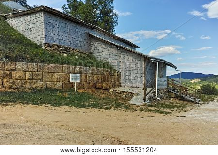 Chetinyova mound in Antique Thracian Temple Complex of Starosel, Plovdiv Region, Bulgaria