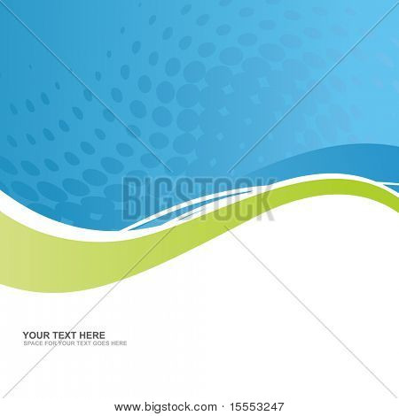 vector business background with space for text