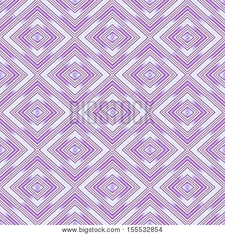 Seamless wall-paper rhombuses lilac. A geometrical pattern with bright drawing a background a basis for design. A print of broad application for the press and a design web.