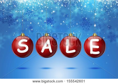 Xmas Holiday Sale Card