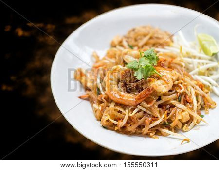 Shrimp On Padthai Menu
