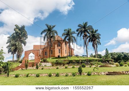 Namirembe Church in Kampala city  in Uganda