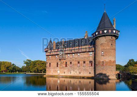 Castle 'de Haar', in the province of Utrecht, the Netherlands