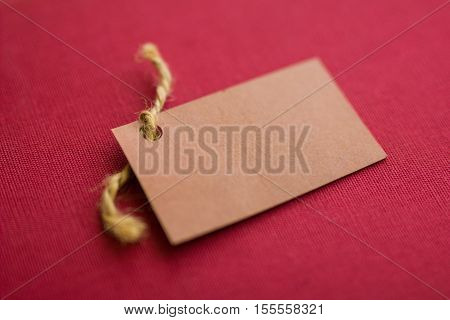 Empty signboard. Empty signboard on red background.