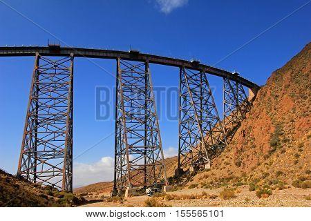 La Polvorilla viaduct, Tren A Las Nubes, near San Antonio De Los Cobres, northwest of Argentina