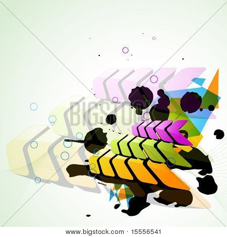 vector arrow style eps10 background design poster