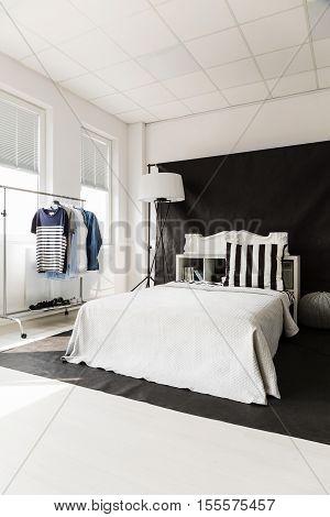 Elegent  black studio flat for independent man
