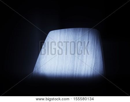 Top of the blueish chair background hd