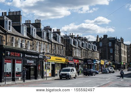 Scotland - United Kingdom - Edinburgh 14.05.2016 - Daily life in the Streets Store