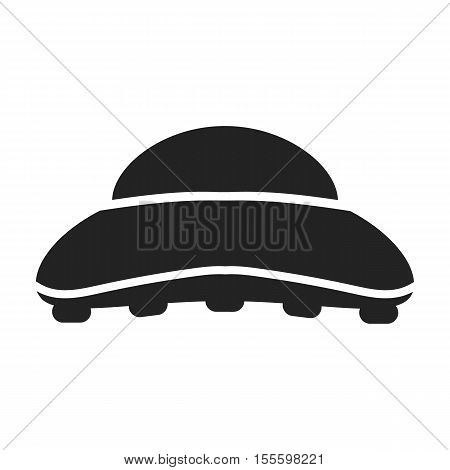 Comb icon in black style isolated on white background. Hairdressery symbol vector illustration.
