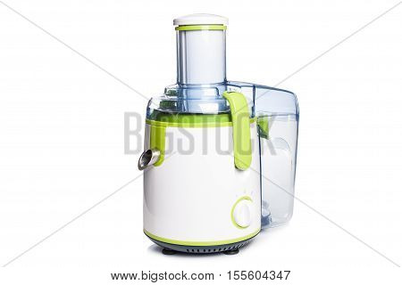 electric juicer on a white backgroundisolated.home tools