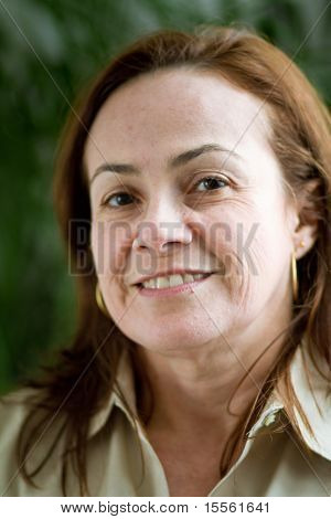 Latin Woman Portrait