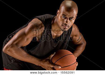 Strong Basketball Player