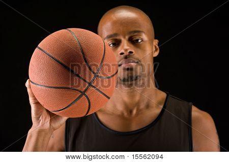 Basketball Ball Closeup