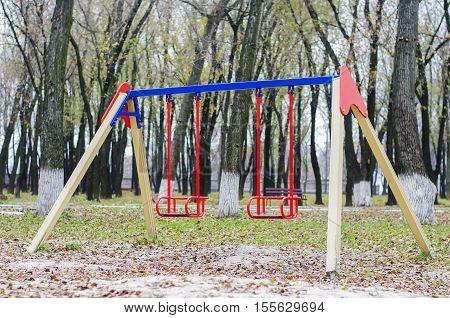 Children's Swing For Park