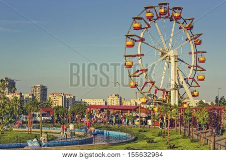 Amusement Park, Bucharest, Romania