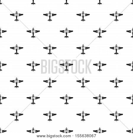 Armed fighter jet pattern. Simple illustration of armed fighter jet vector pattern for web