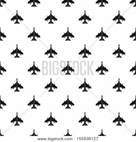 Fighter jet pattern. Simple illustration of fighter jet vector pattern for web