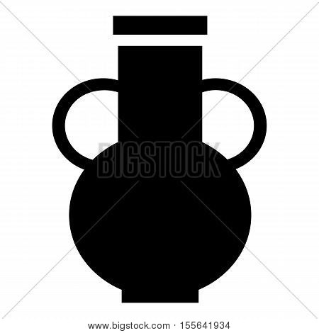 Pitcher icon. Simple illustration of pitcher vector icon for web design
