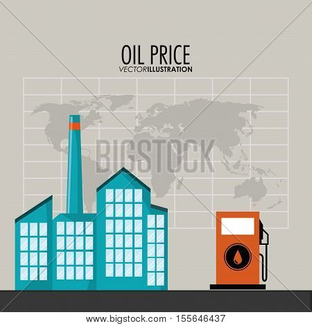 Gasoline pump icon. Oil price industry fuel production and gasoline theme. Isolated design. Vector illustration