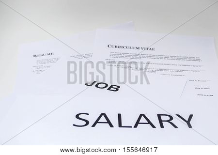 concept of salary is necessary for resume in job application