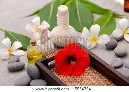 Spa treatment and product for tropical spa,