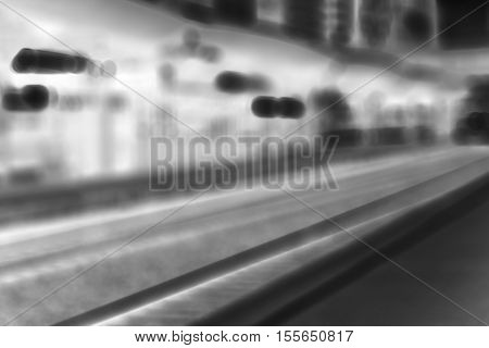 Diagonal inverted Oslo train station background hd