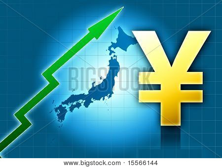 Japan Yen Increasing Value