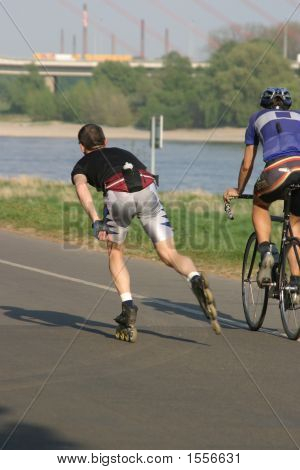 Skater Vs Biker