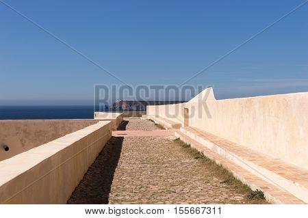 Fortress of Sagres, Cabo de Sao Vicente, Portugal