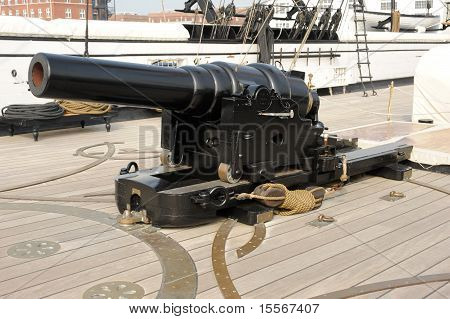 Breech Loading Victorian Cannon