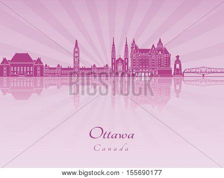 Ottawa V2 Skyline In Purple Radiant Orchid